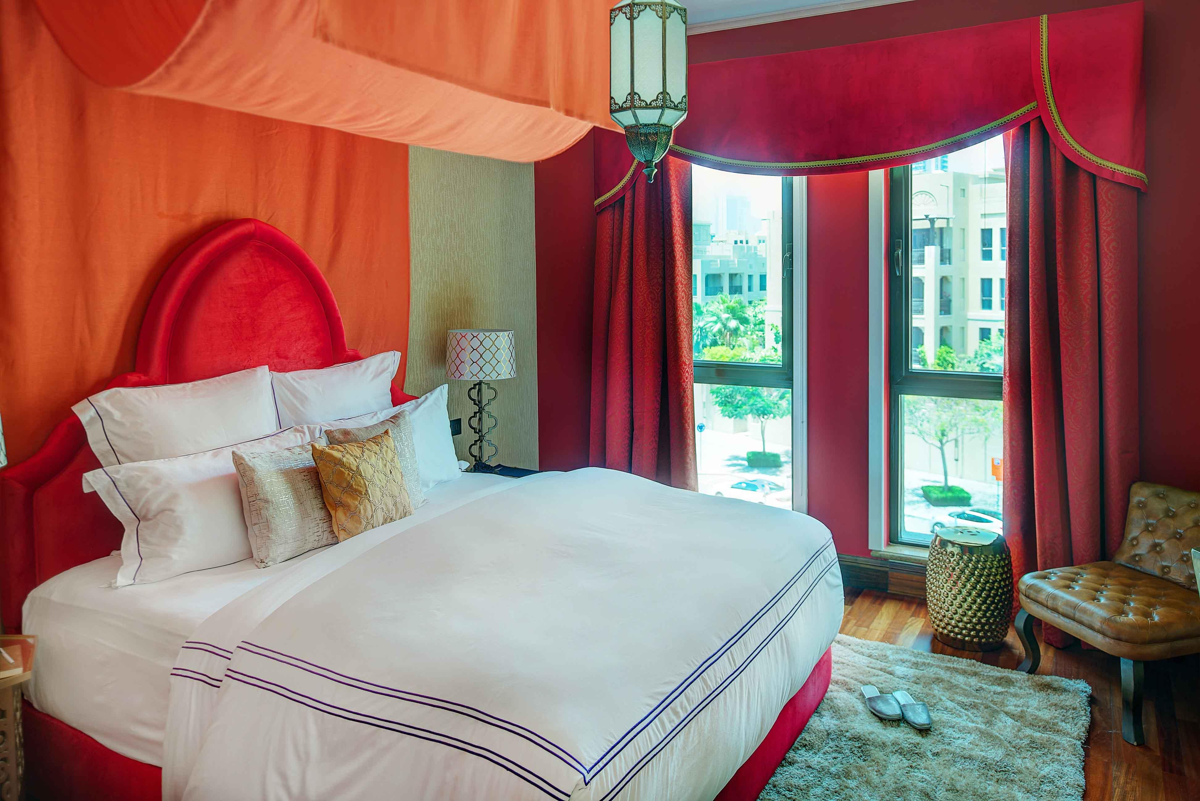 Bedroom at Emaar Miska Tower Apartment