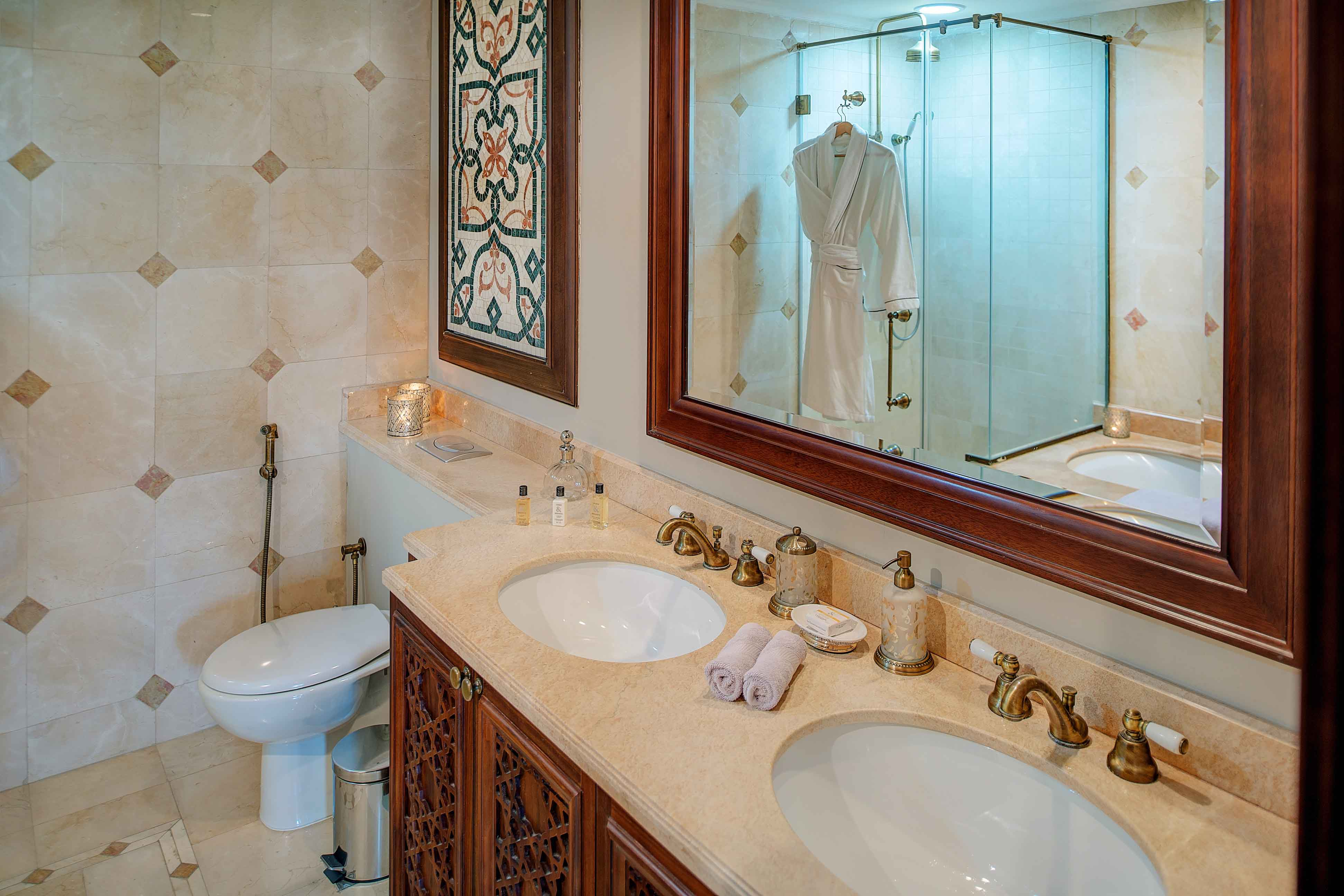 Bathroom at Emaar Miska Tower Apartment