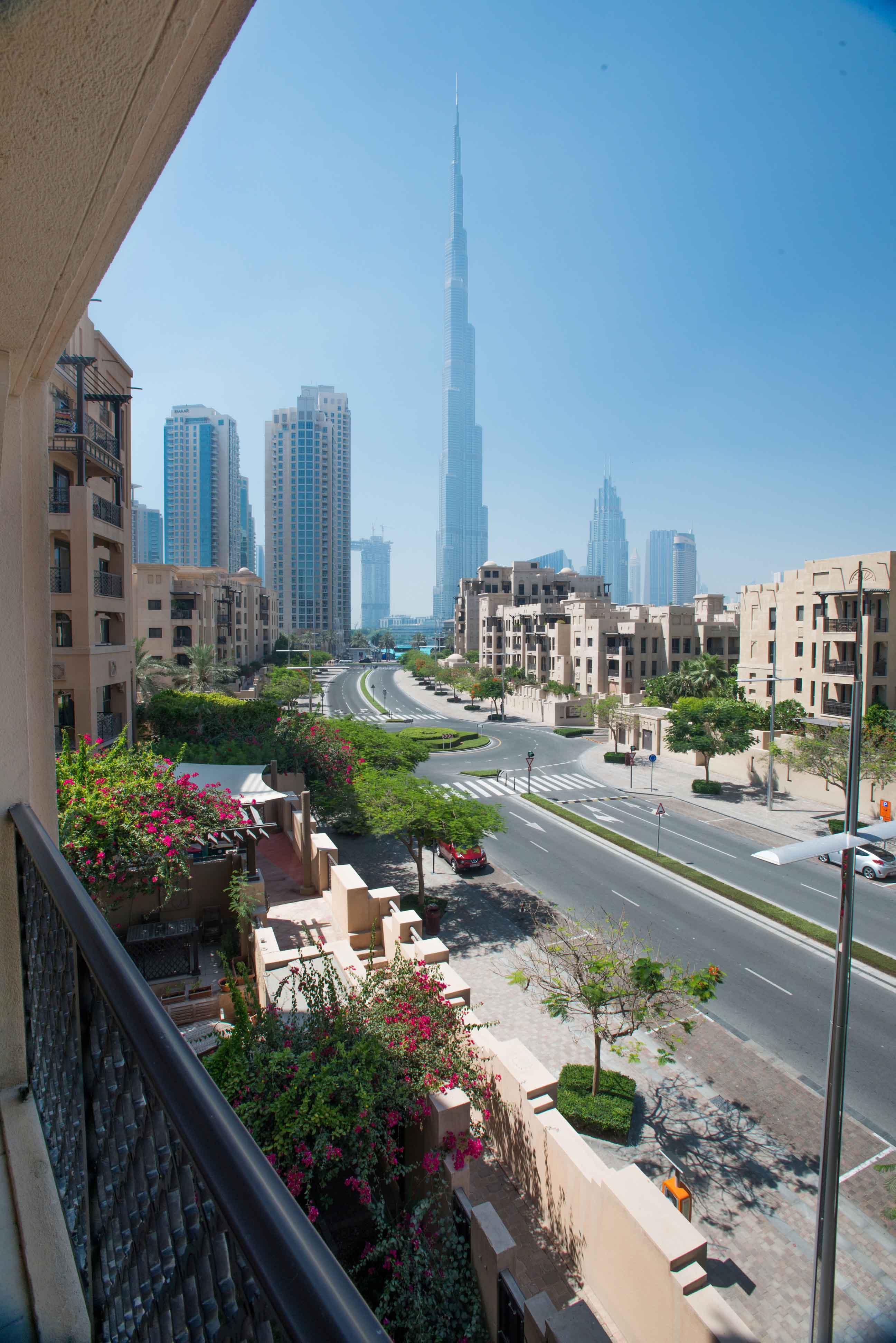 View at Emaar Miska Tower Apartment