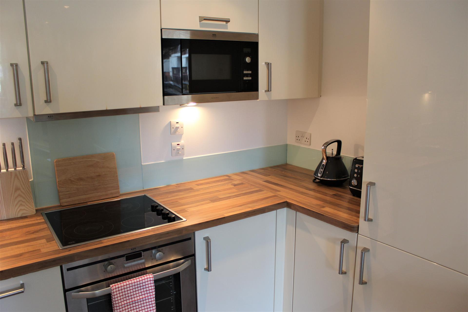 Kitchen at Gunwharf Quays Apartments, Gunwharf Quays, Portsmouth