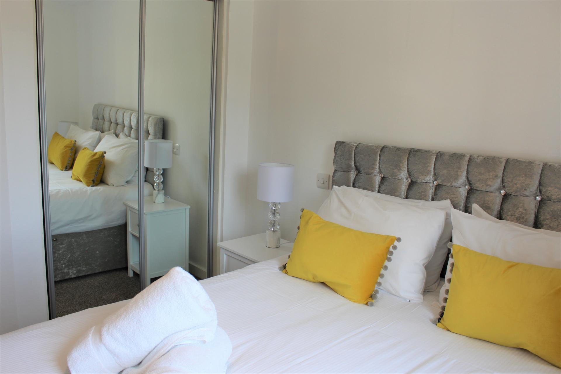 Bedding at Gunwharf Quays Apartments, Gunwharf Quays, Portsmouth