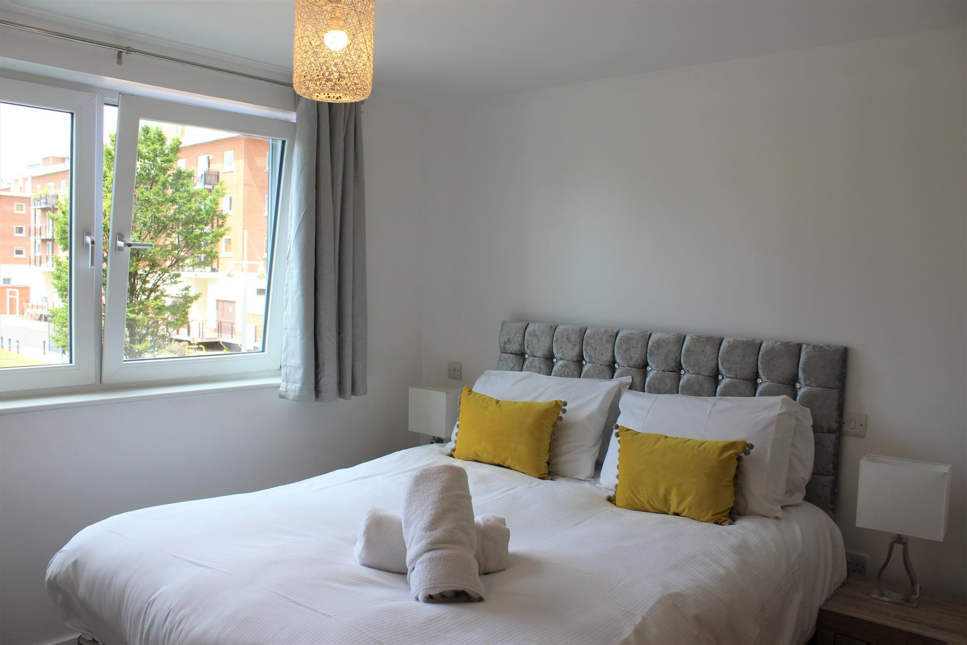 Towels at Gunwharf Quays Apartments, Gunwharf Quays, Portsmouth
