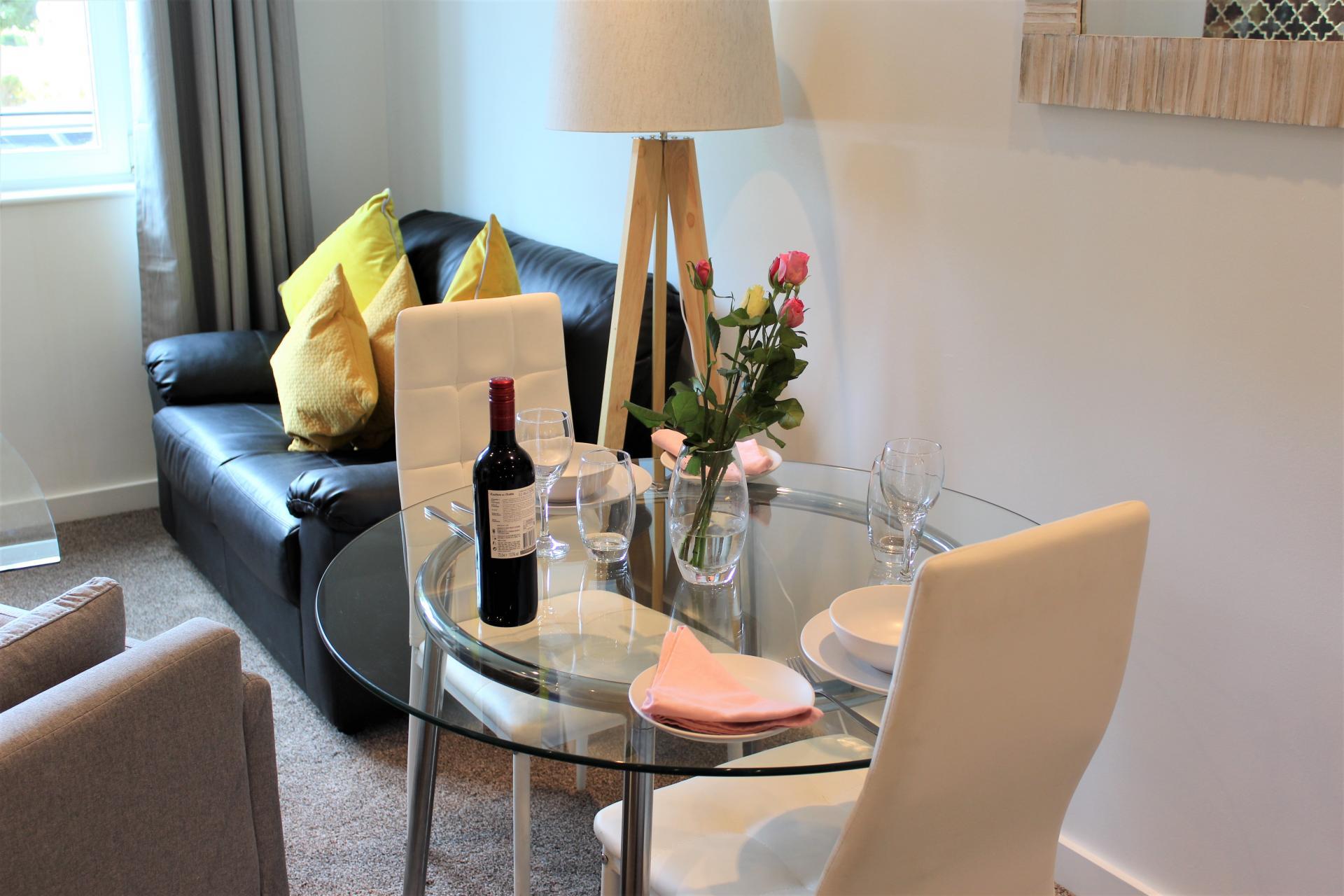 Table at Gunwharf Quays Apartments, Gunwharf Quays, Portsmouth