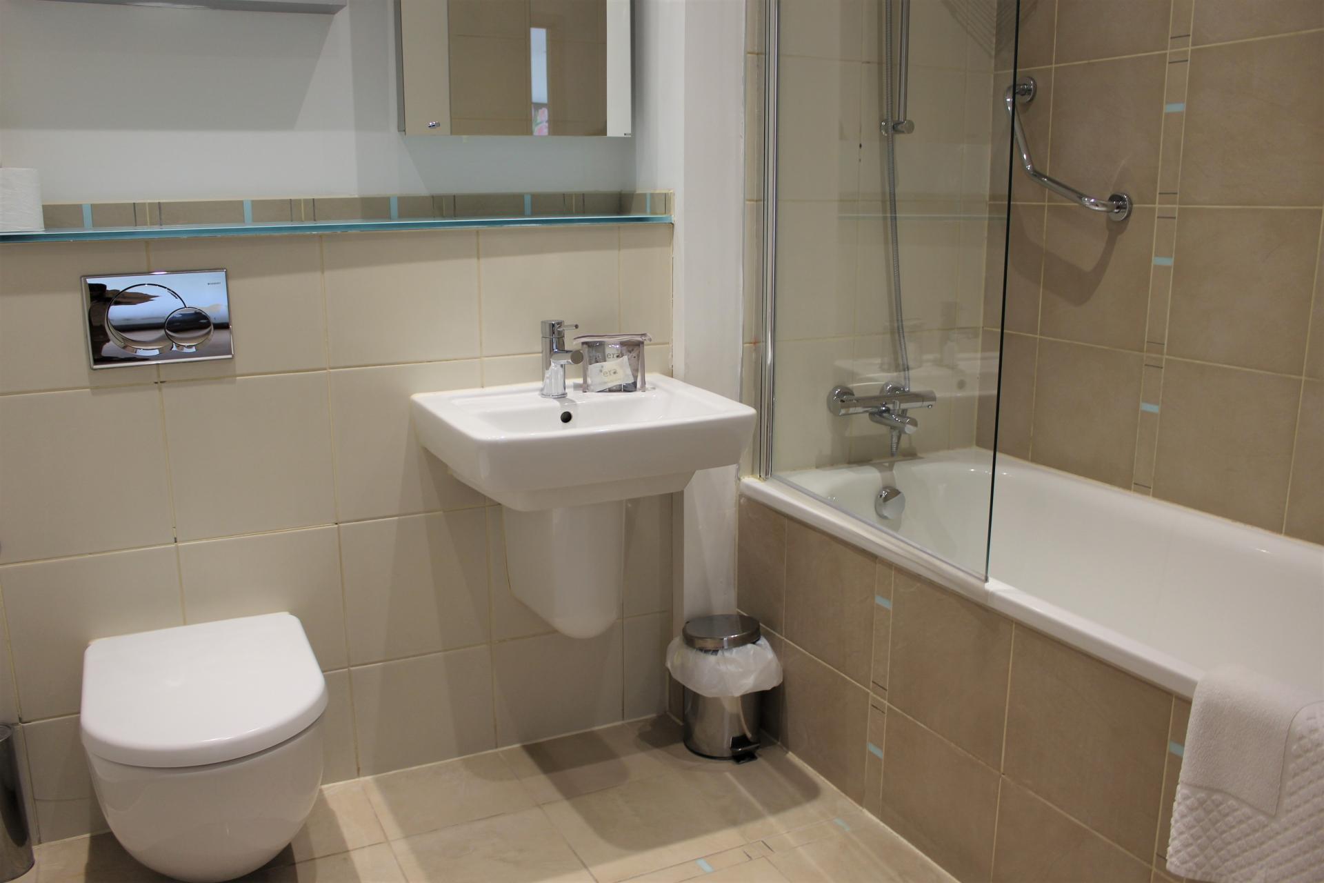 WC at Gunwharf Quays Apartments, Gunwharf Quays, Portsmouth