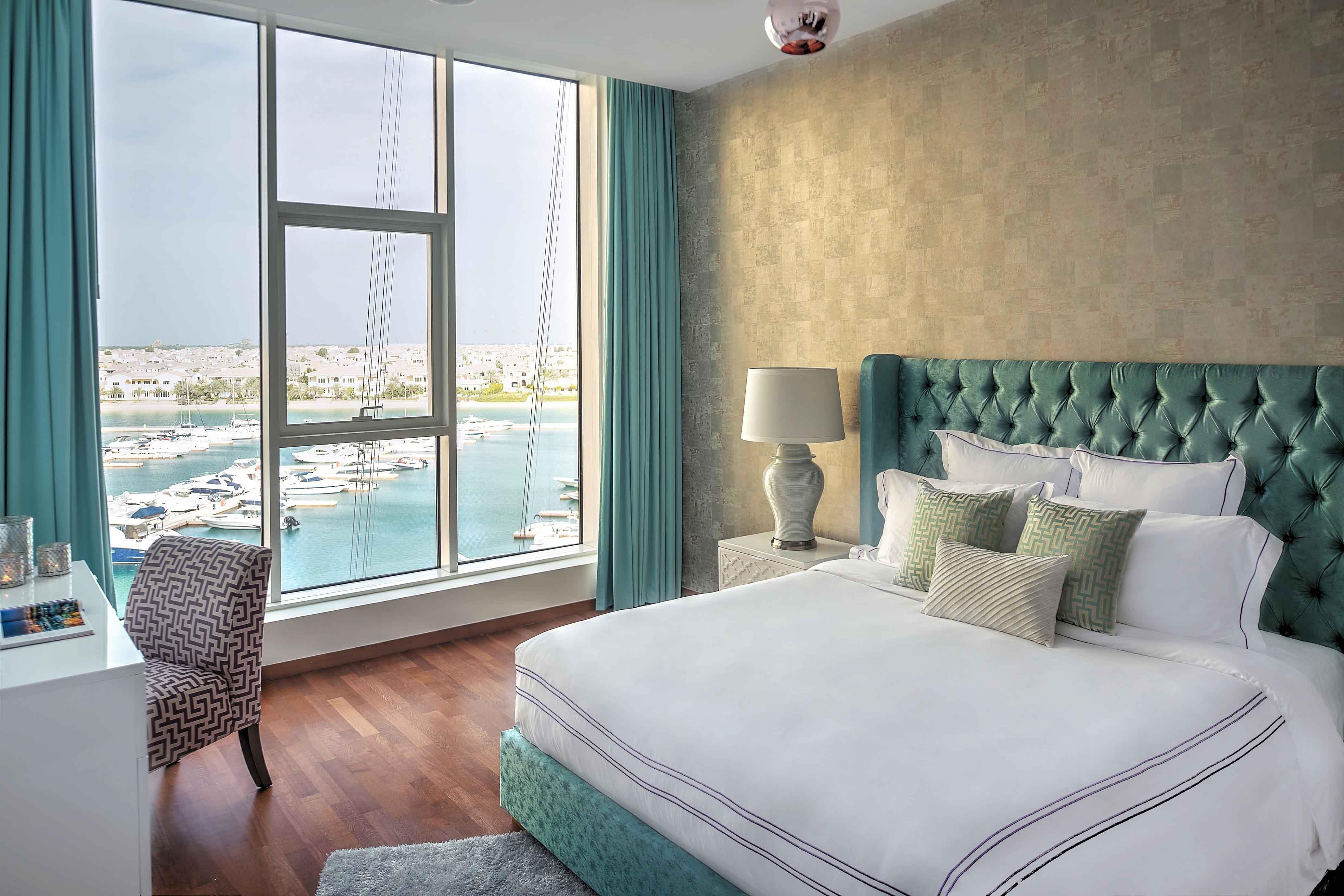 Bedroom at Tiara Tower Apartments