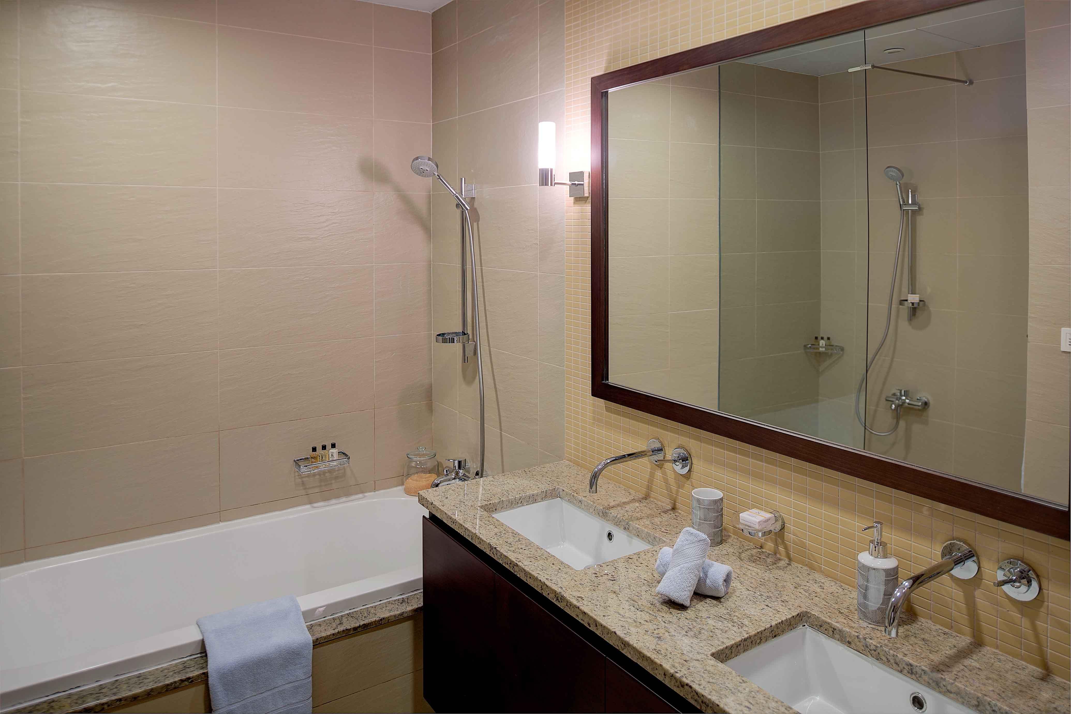 Bathroom at Tiara Tower Apartments