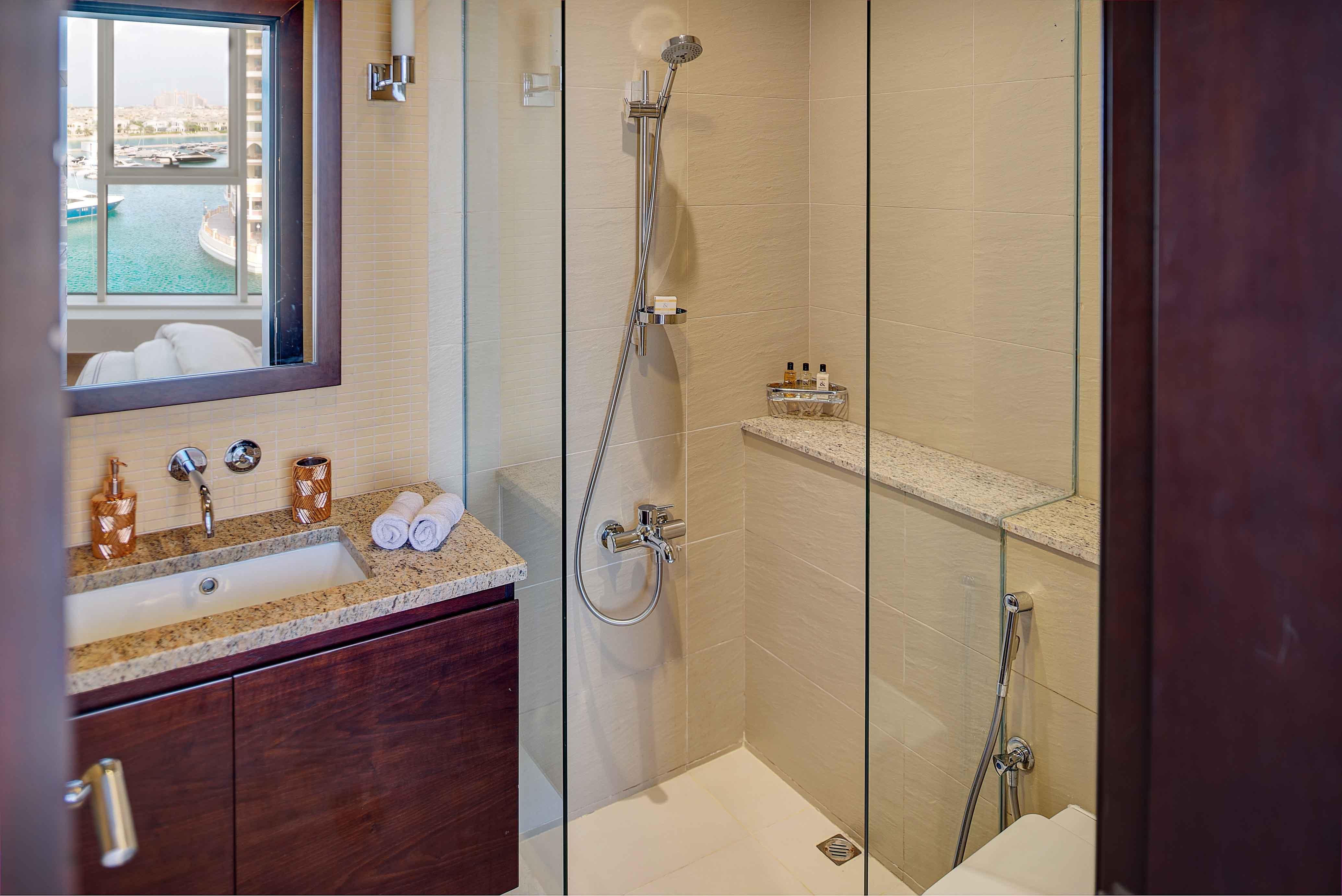 Shower at Tiara Tower Apartments