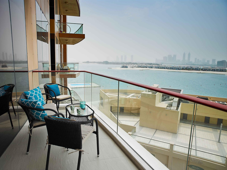 Balcony at Tiara Tower Apartments
