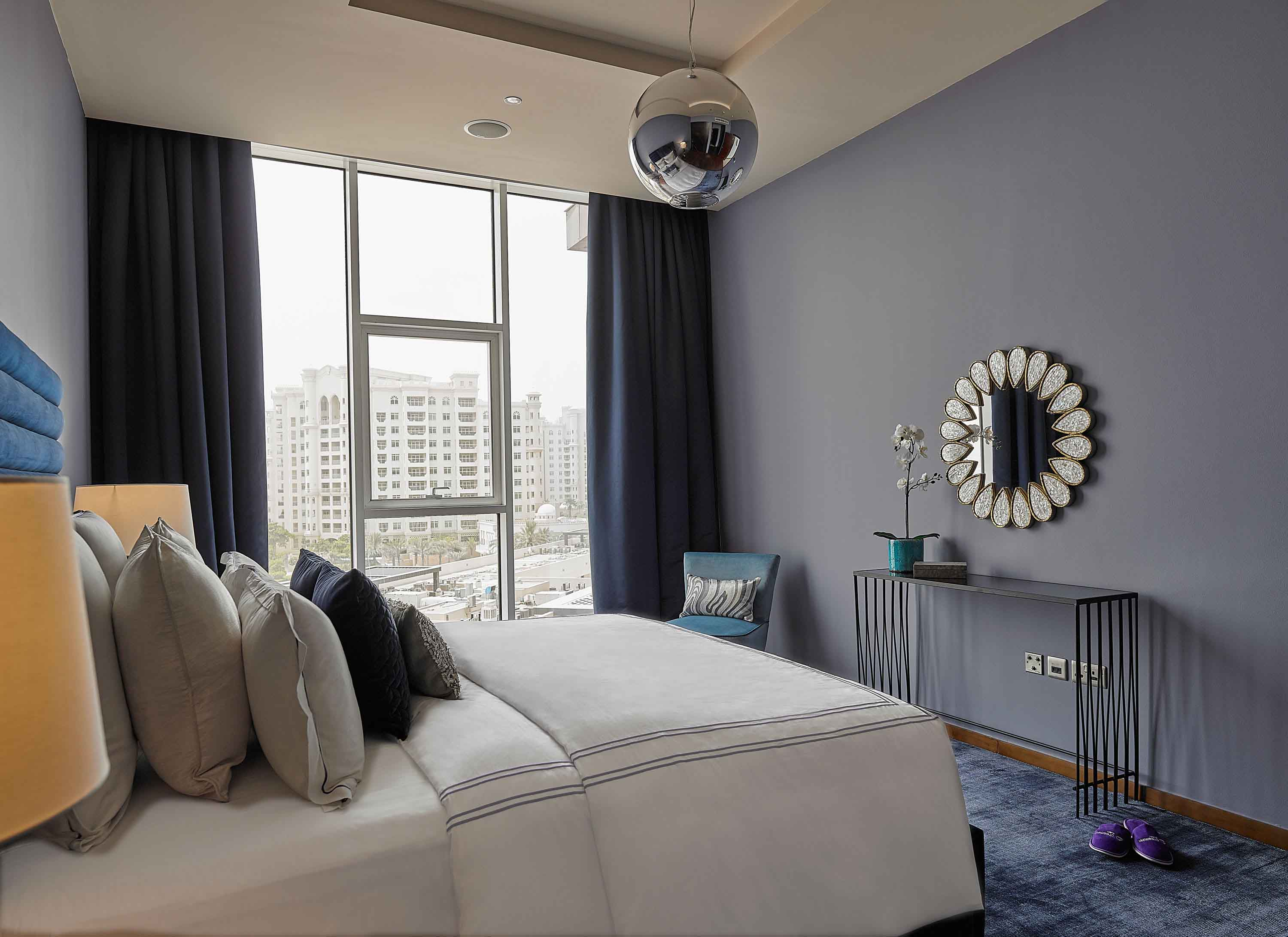 Double bedroom at Tiara Tower Apartments