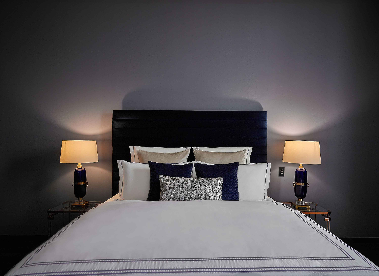 Large bed at Tiara Tower Apartments
