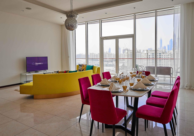 Living room at Tiara Tower Apartments