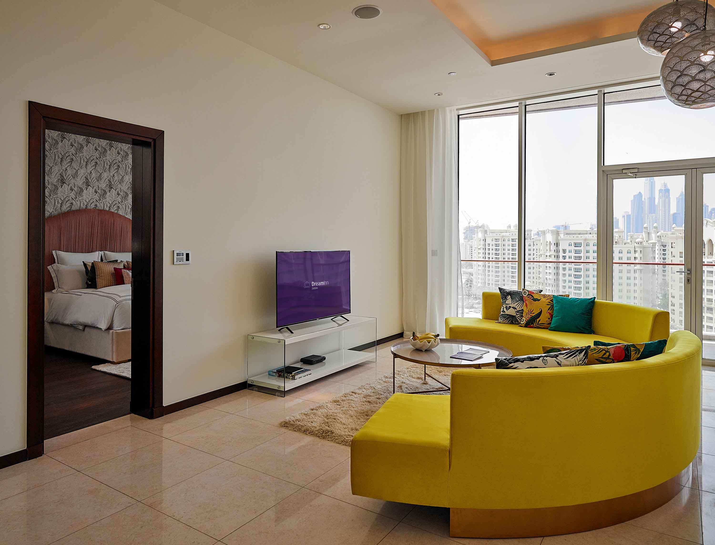 Sofa at Tiara Tower Apartments