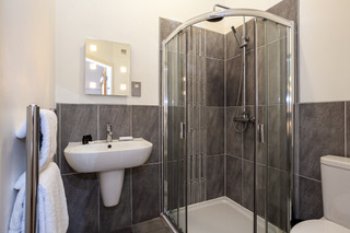 Shower at Bloom Apartments, Centre, Manchester