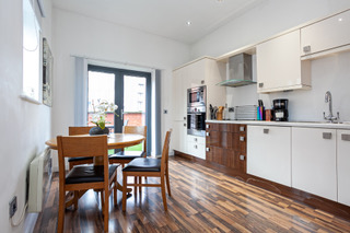 Dining area at Bloom Apartments, Centre, Manchester