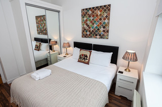 Beautiful bedroom at Bloom Apartments, Centre, Manchester
