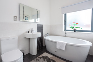 Stunning bath at Bloom Apartments, Centre, Manchester
