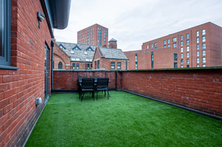 Outside area at Bloom Apartments, Centre, Manchester
