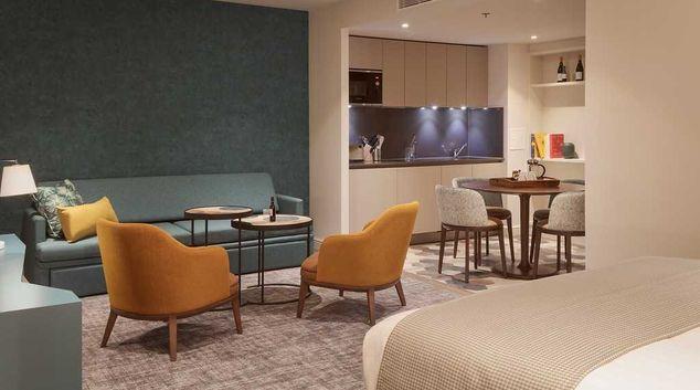 Lounge at Staybridge Heathrow Apartments