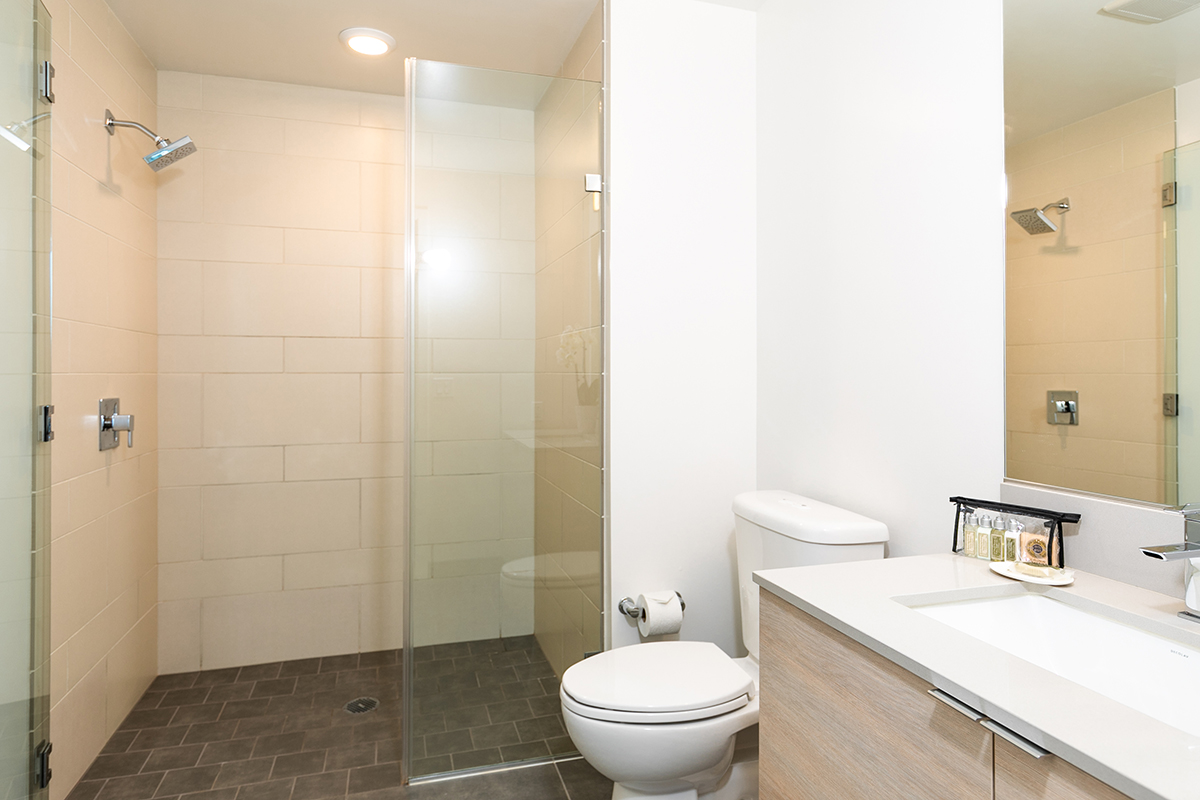 Bathroom at Fremont Serviced Apartments