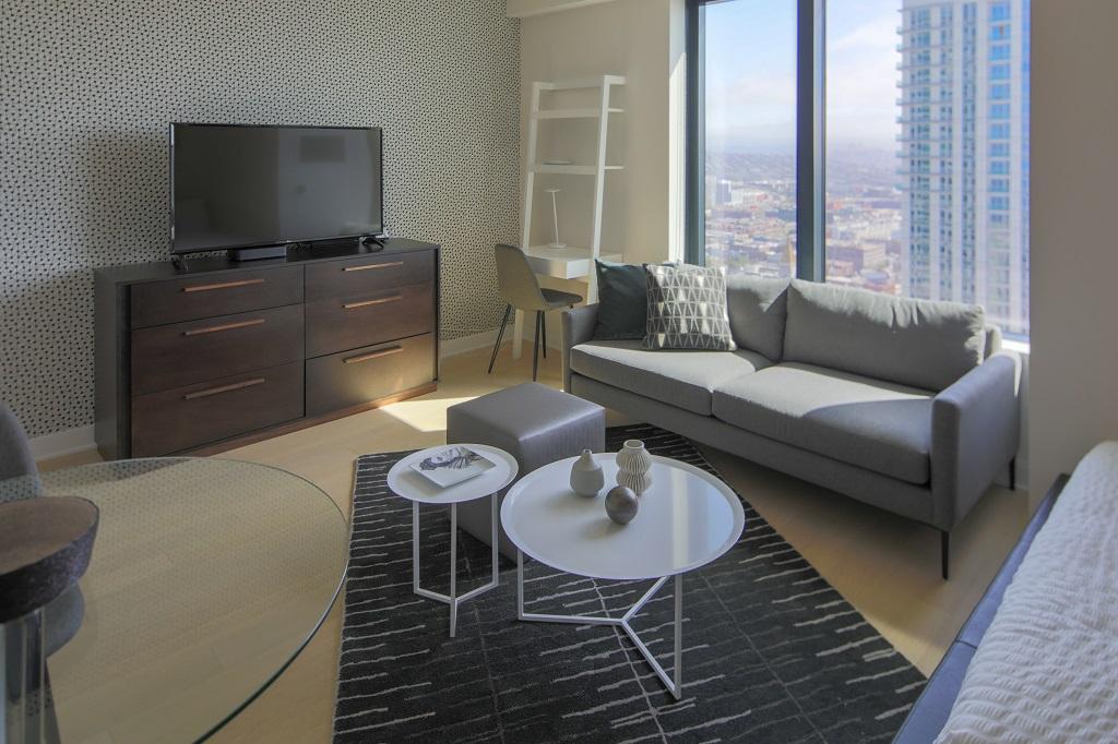 Studio apartment at Fremont Serviced Apartments