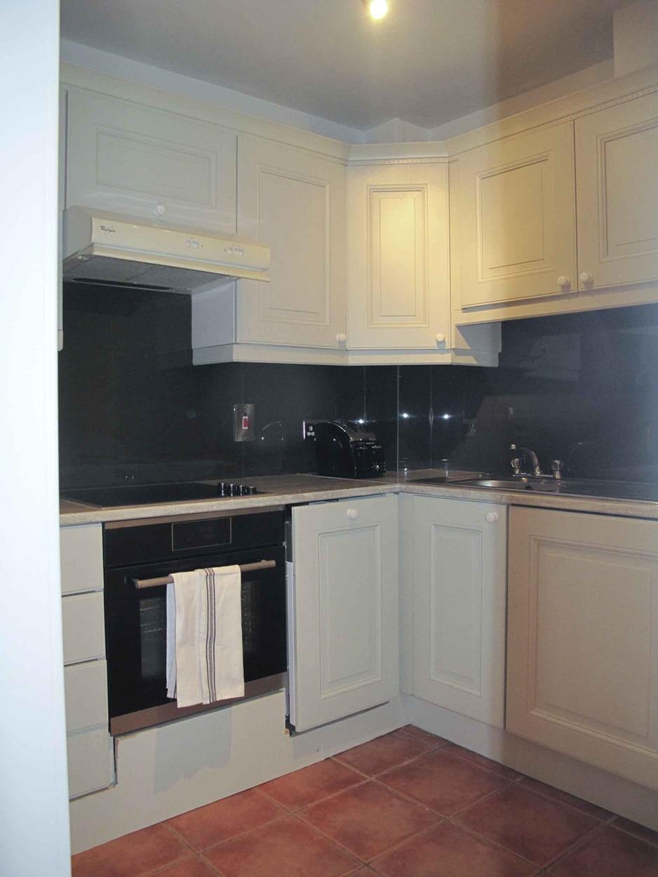 Kitchen at Pembroke Square Apartment