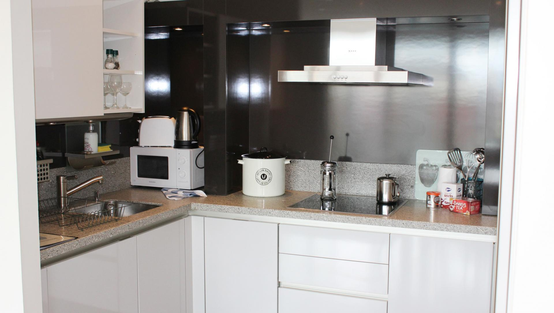 Kitchen at The Waterfront Apartment