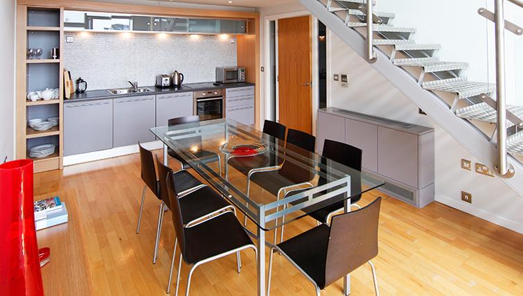 Equipped kitchen in SACO Birmingham - Brindley Place