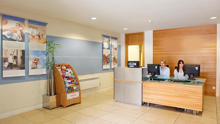 Reception area at SACO Birmingham - Brindley Place
