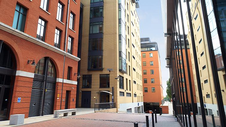 Outside of SACO Birmingham - Brindley Place