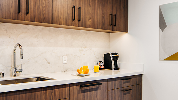 Kitchen at The Paramount Serviced Apartments