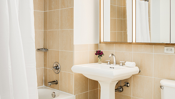 Sink at The Paramount Serviced Apartments