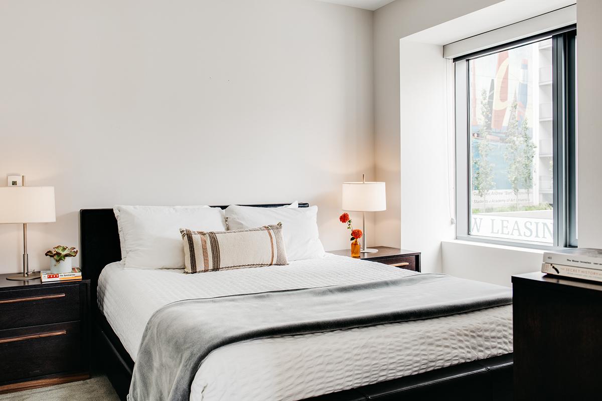 Bedroom at Van Ness Serviced Apartments