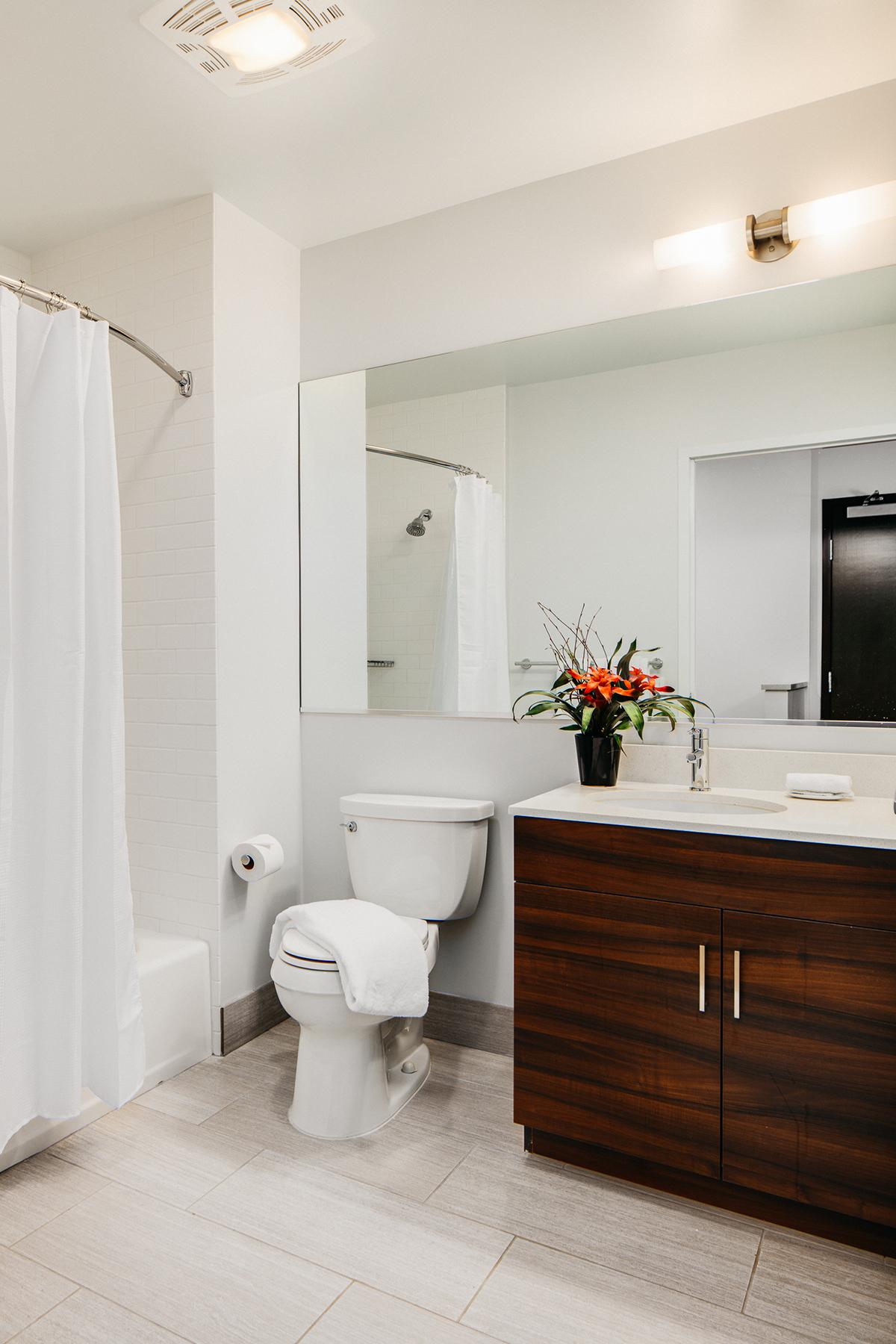Bathroom at Van Ness Serviced Apartments