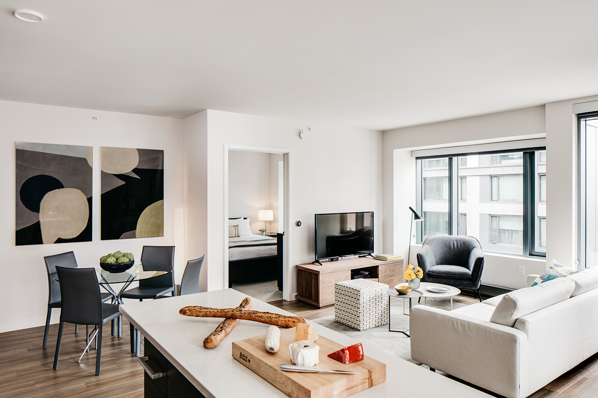TV at 150 Van Ness Apartments