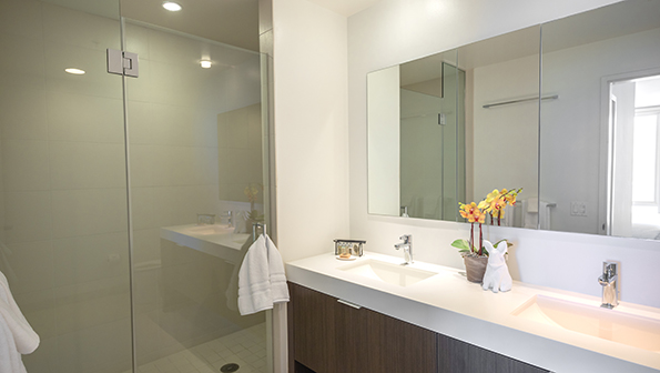 Bathroom at Nema Serviced Apartments