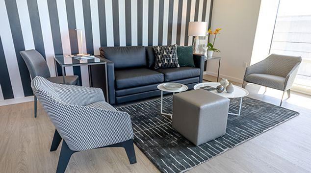 Living room at Nema Serviced Apartments