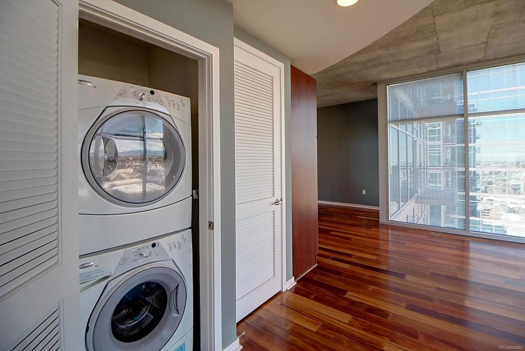 Laundry at  Glass House Apartments