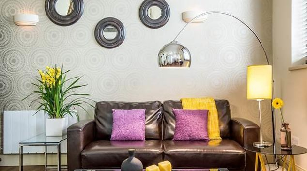 Living room at Portobello Market Apartments