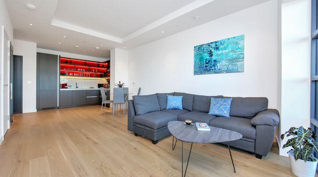Living room at Modena Serviced Apartments