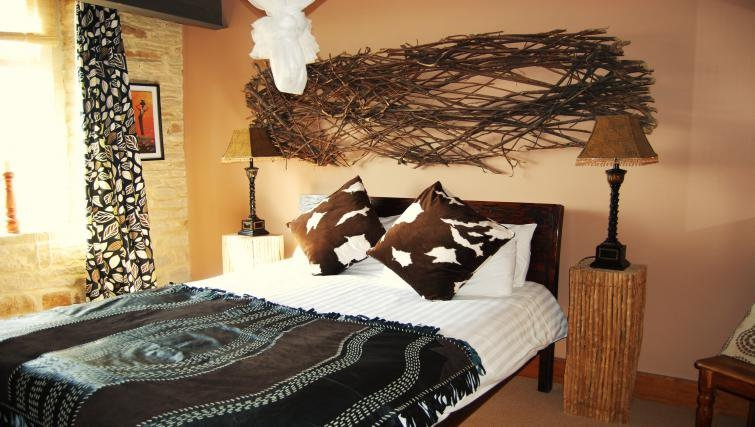 Quirky bedroom in Heritage Exchange Apartments
