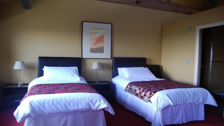 Charming bedroom in Heritage Exchange Apartments