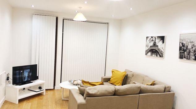 Living room at Ekhaya Apartments