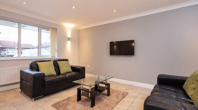 Living room at The Bluestone Villa