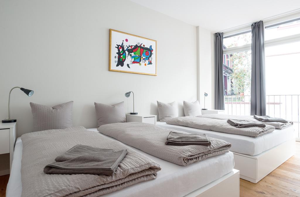 Bedroom at Marktplatz Apartments
