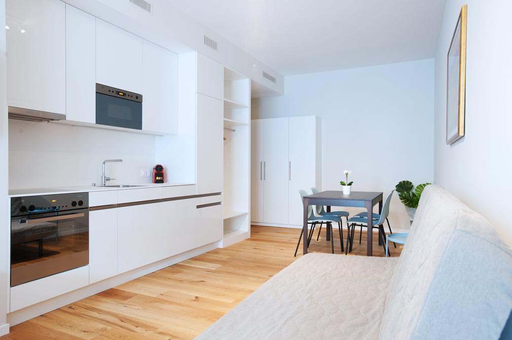 Oven at Marktplatz Apartments