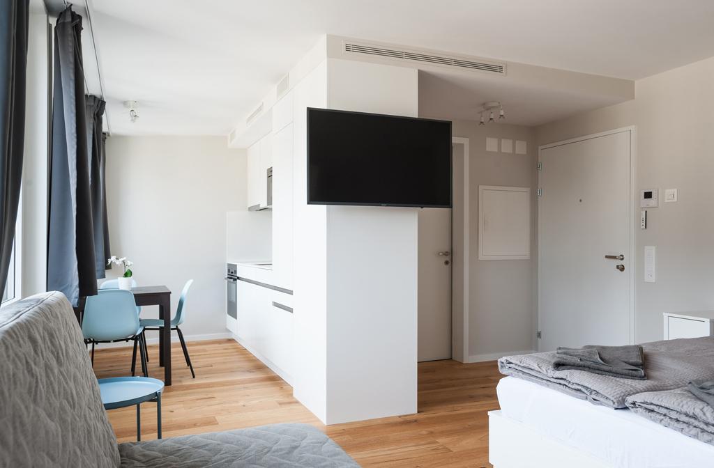 Studio apartment at Marktplatz Apartments