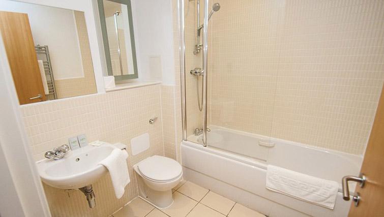 Bathroom at Ocean Serviced Apartments
