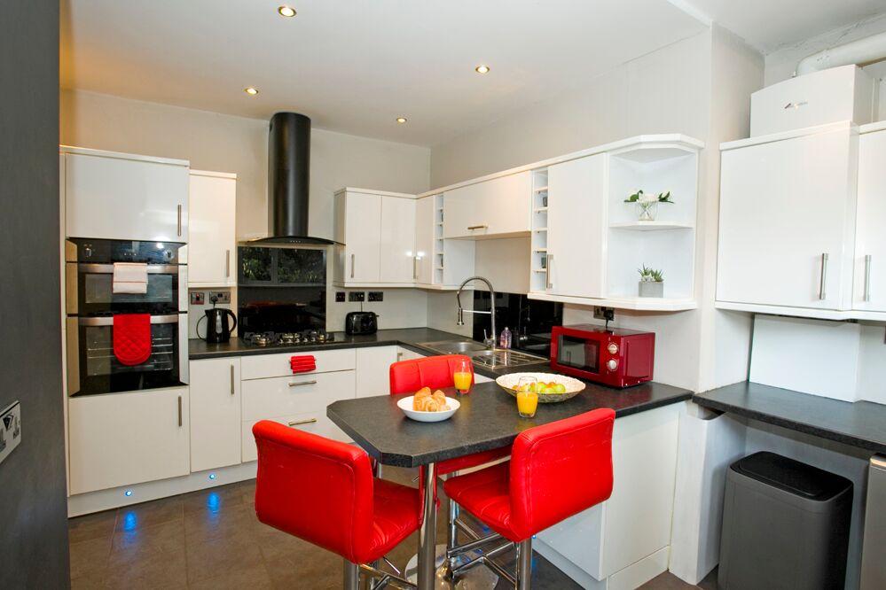 Kitchen at Gardens View Apartments