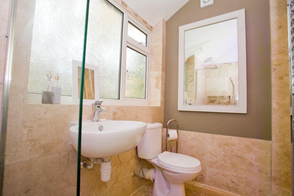 Toilet at Gardens View Apartments