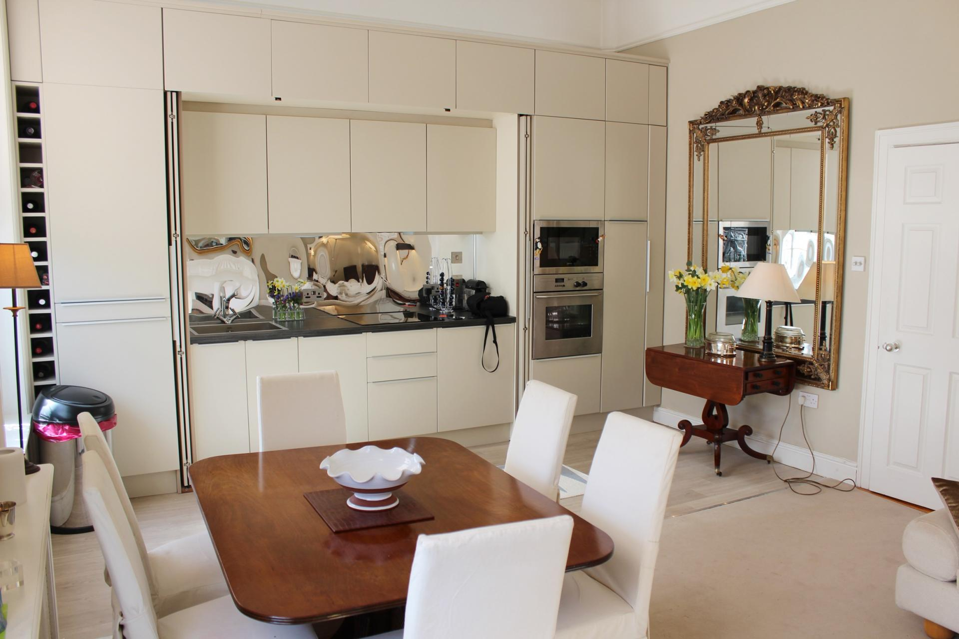 Kitchen at Warrington Place Apartment